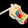 Jouet de motricité Tracteur avec xylophone