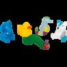 Kit animaux aquatiques La chenille qui fait des trous