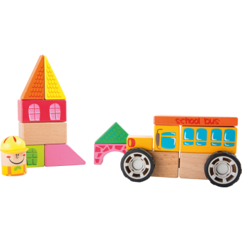 Kit de construction Bus scolaire