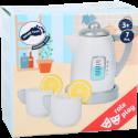 Kit de thé avec bouilloire pour cuisine d'enfant