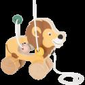 """Lion à tirer avec circuit de motricité """"Safari"""""""
