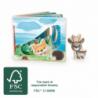 Livre d'images Paysage forestier, interactif