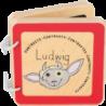 """Livre pour bébé """"Ludwig"""" (contrastes)"""