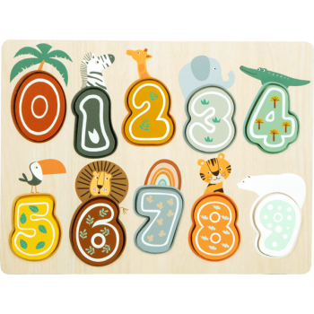 "Puzzle à poser Chiffres ""Safari"""