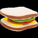 Sandwich en tissu
