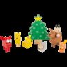 Set de jeu Noël des animaux de la forêt