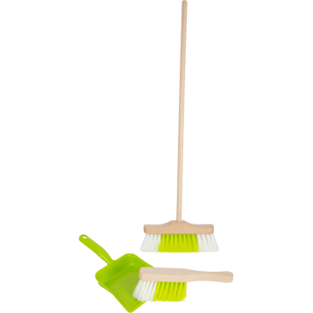 Set de nettoyage avec balai