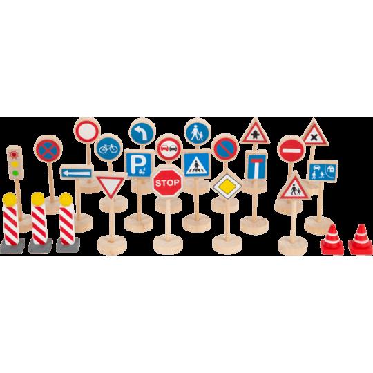 Set de panneaux de signalisation