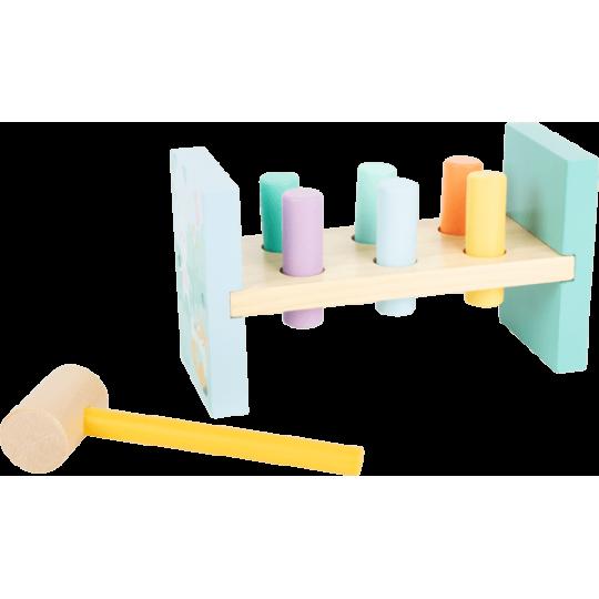 Table à marteler Pastel