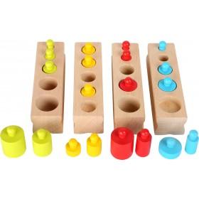 Jeu à encastrer Poids Montessori