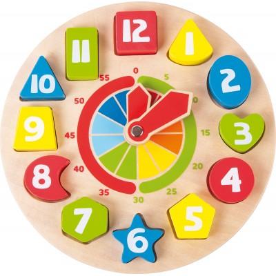 Horloge éducative Formes Montessori