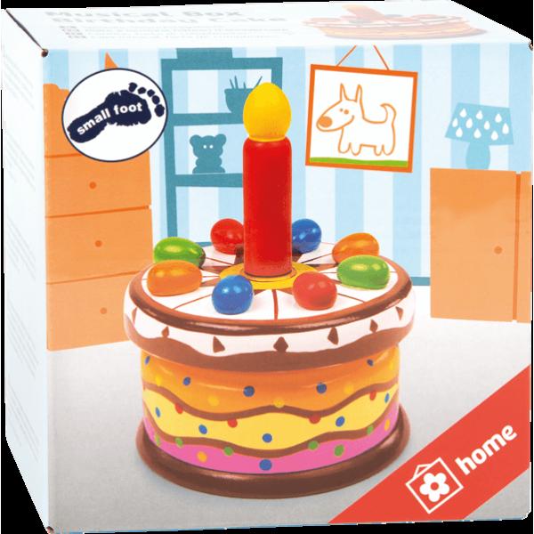 Boîte à musique Gâteau d'anniversaire