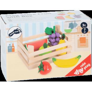 Boutique marchande - Caisse de fruits