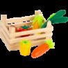Boutique marchande - Caisse de légumes
