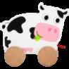 Animal à tirer Vache