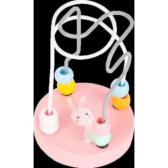 Circuit de motricité Lapin pastel