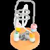 Circuit de motricité Raton laveur pastel