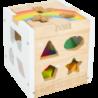 Cube à formes Arc-en-ciel
