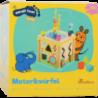 Cube d´activité avec l'éléphant Die Maus