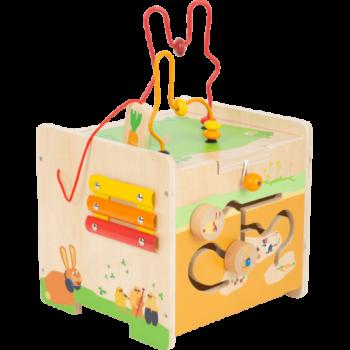 Cube de motricité Lapin