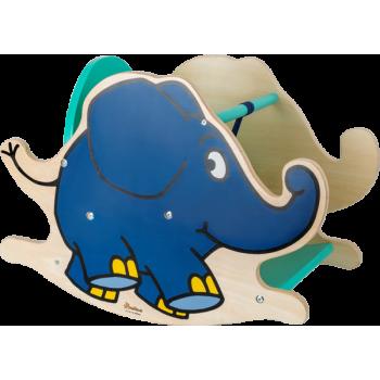 Eléphant à bascule Die Maus