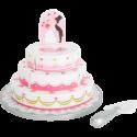 Gâteau de mariage à découper