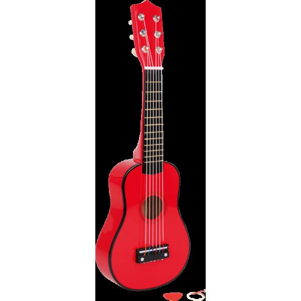 Guitare rouge